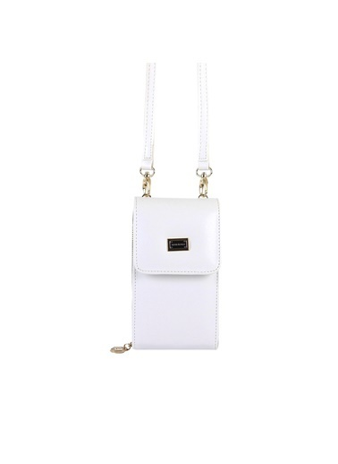 Silver Polo Çanta Beyaz